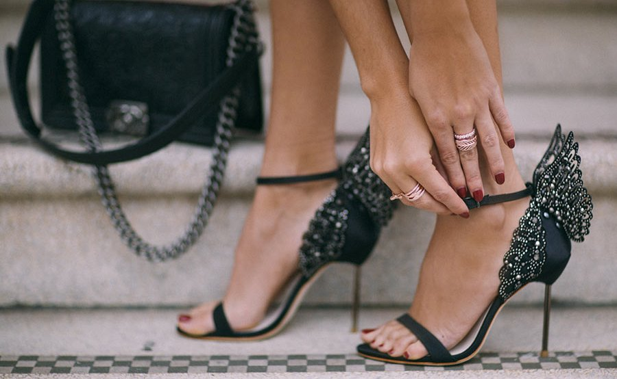 Three Ways To Show Off Your Toes In Holiday Party Footwear