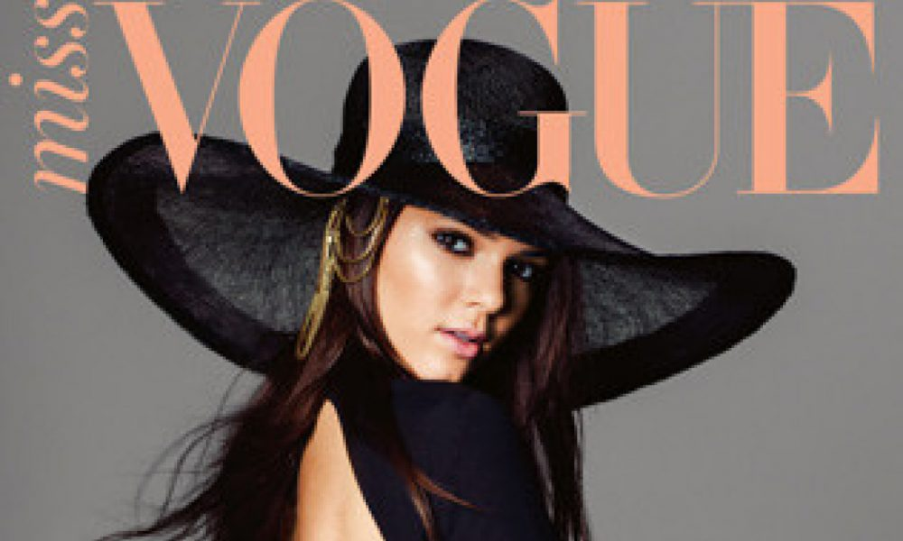 Reality Television Star Kendall Jenner Stuns On Magazine Cover
