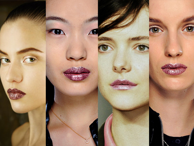 How To Create Shimmery Lips For The Holidays