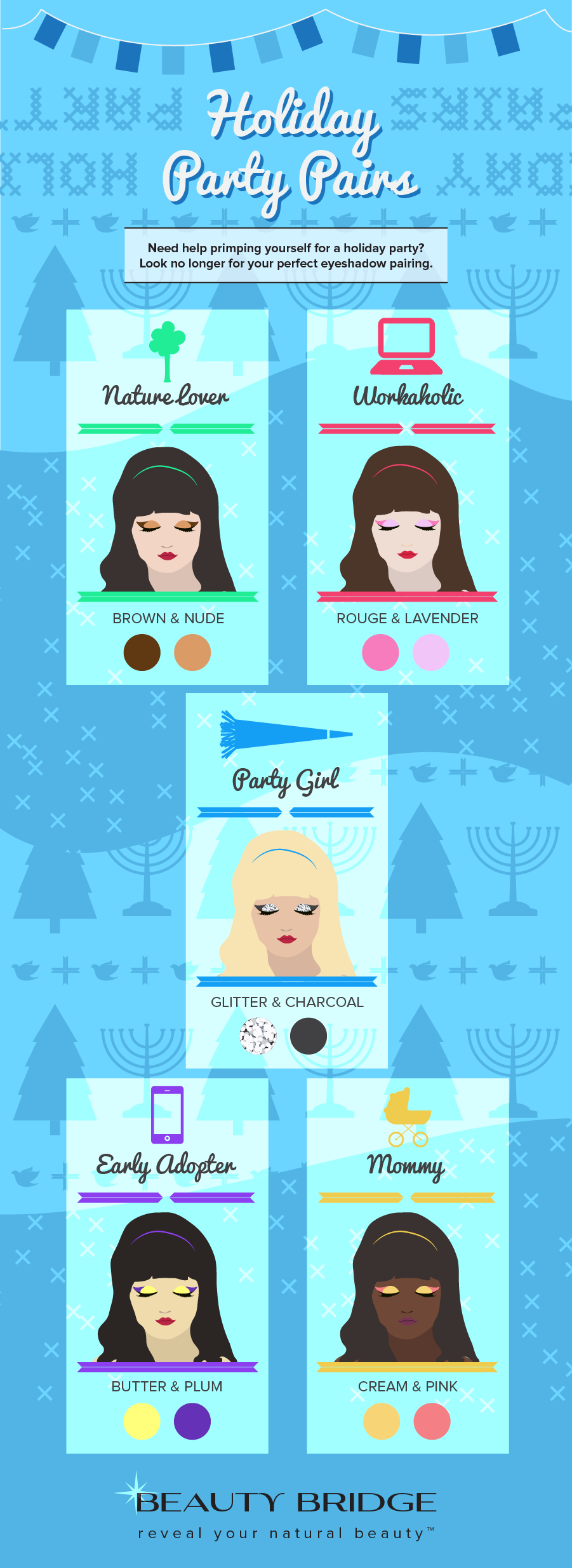Holiday Party Eyeshadow Pairing