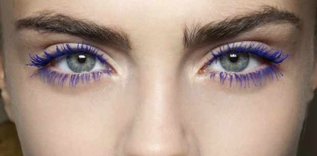 How To Wear Blue Mascara And Own It