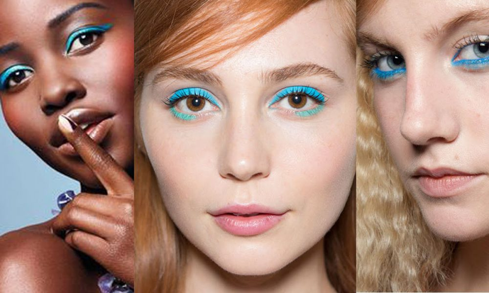 How To Sport Blue Eyeliner Like A Pro