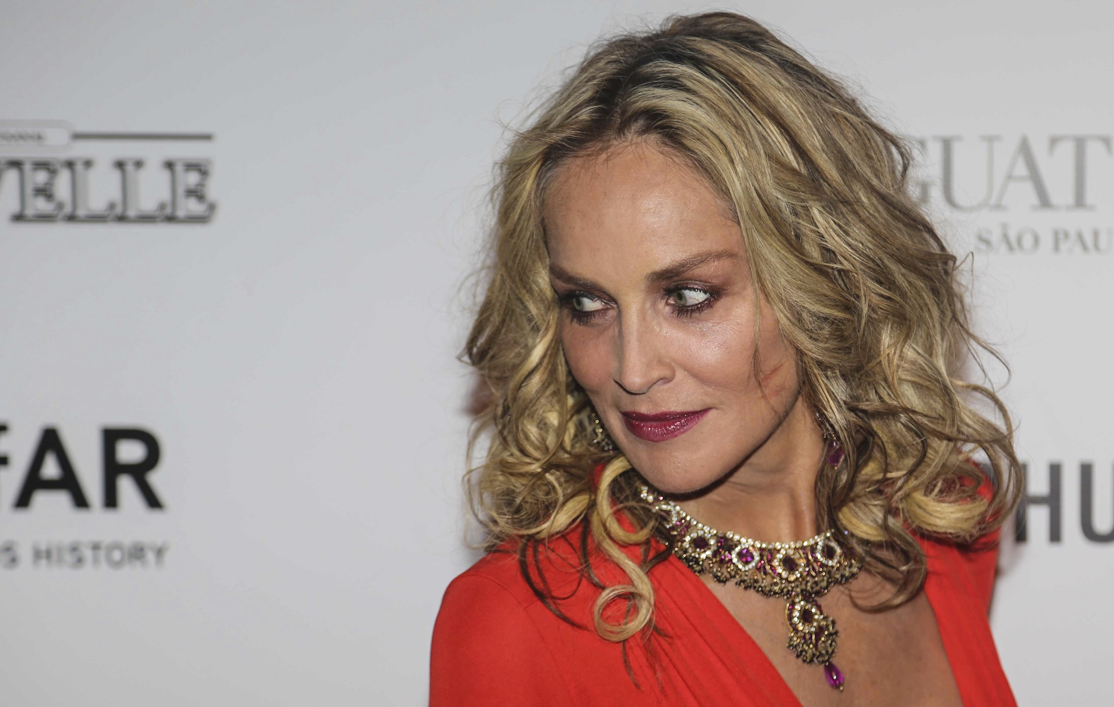 Sharon Stone Steps Out Of Her Comfort Zone With Bold