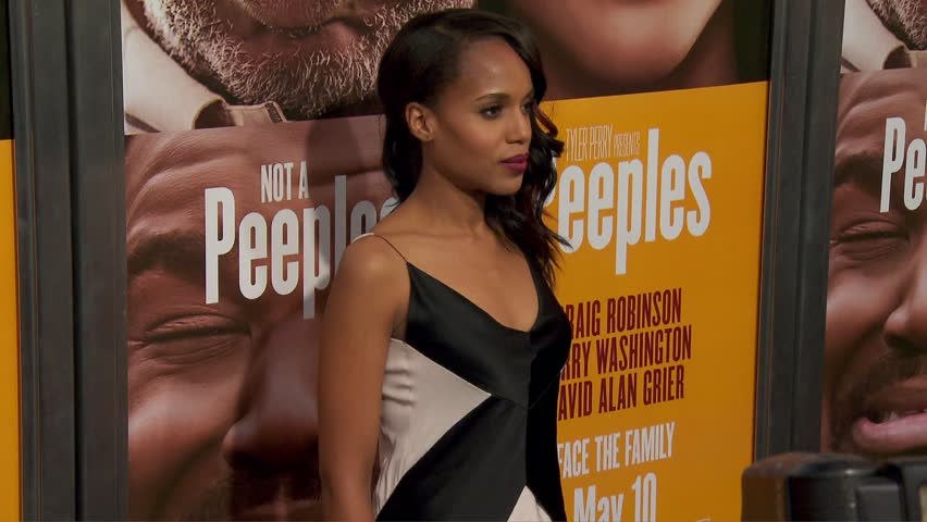 Kerry Washington Knows How To Flaunt Her Pout