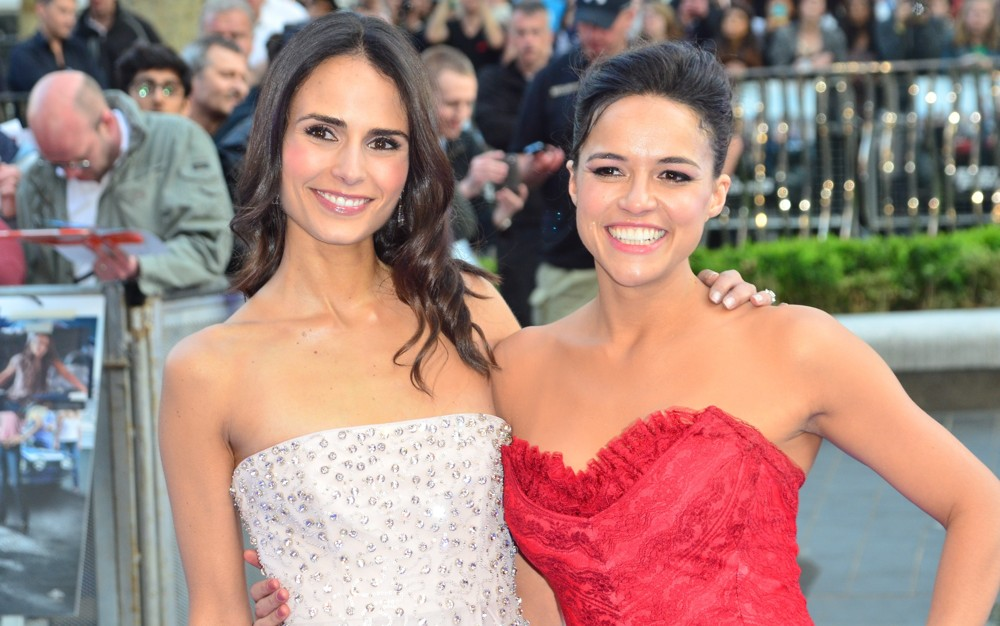 Michelle Rodriguez Shines At The Premiere Of 'Fast & Furious 6'
