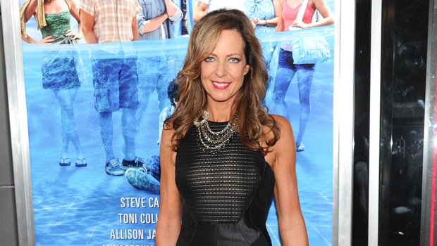 Allison Janney Knows Fuchsia Works Well On Her Lips