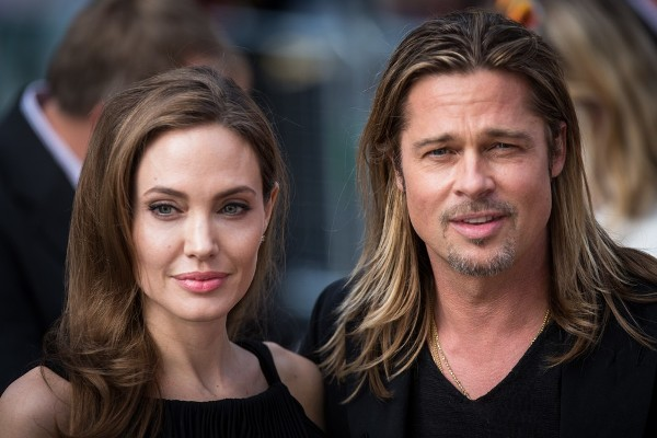 "Angelina Jolie Wears Little Makeup To The Premiere Of ""World War Z"""