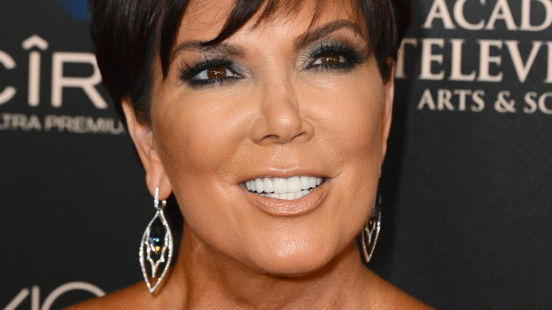 Kris Jenner Still Has Love For The Smoky Eye Look