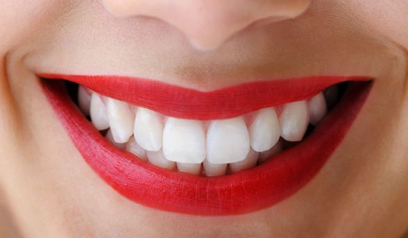 Complement Bright Lipstick With A Pearly White Smile