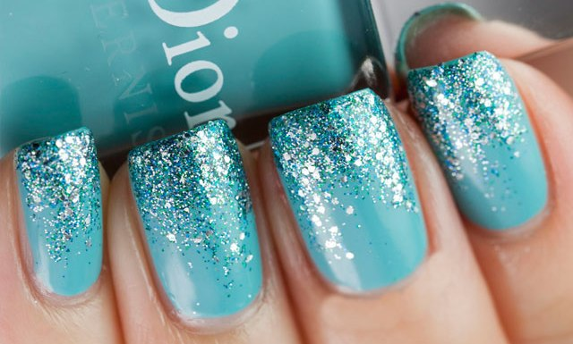 Strike A Balance Between Classy And Fun With Glitter Nails
