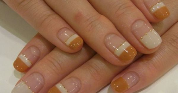 Butterscotch nails