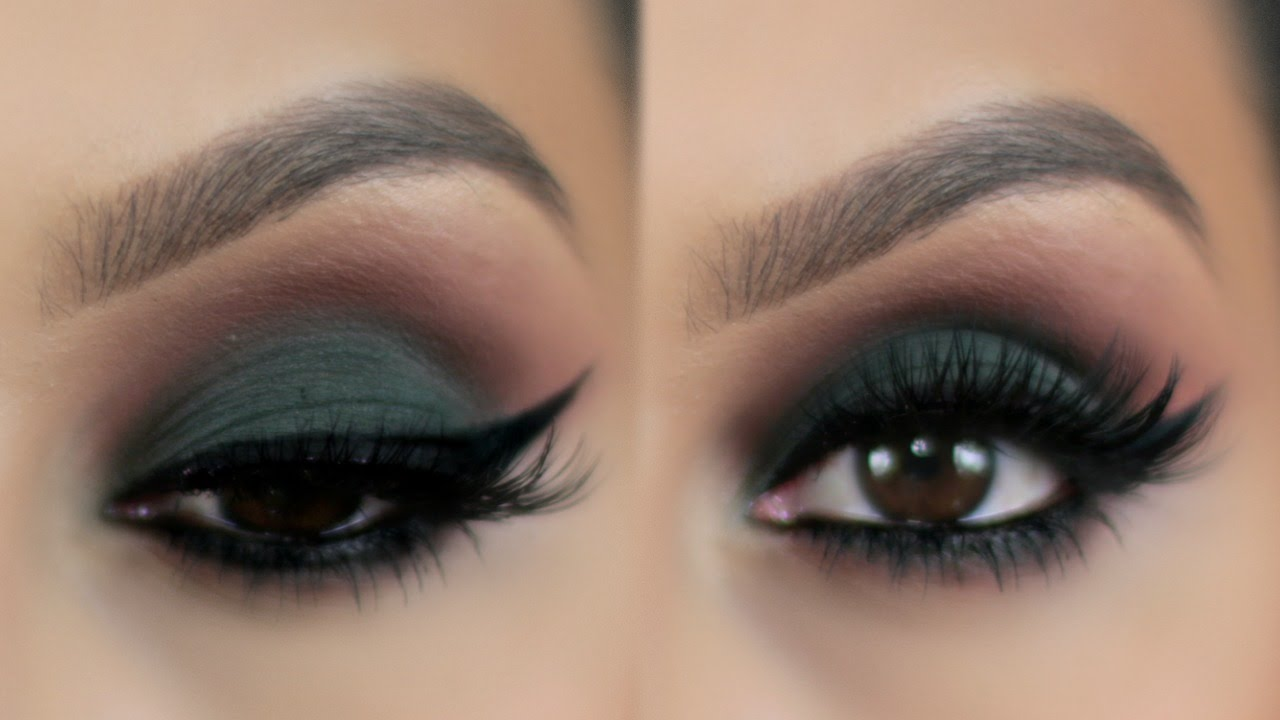 green smoky tutorial