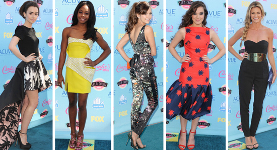 Top Beauty Looks From The 2013 Teen Choice Awards