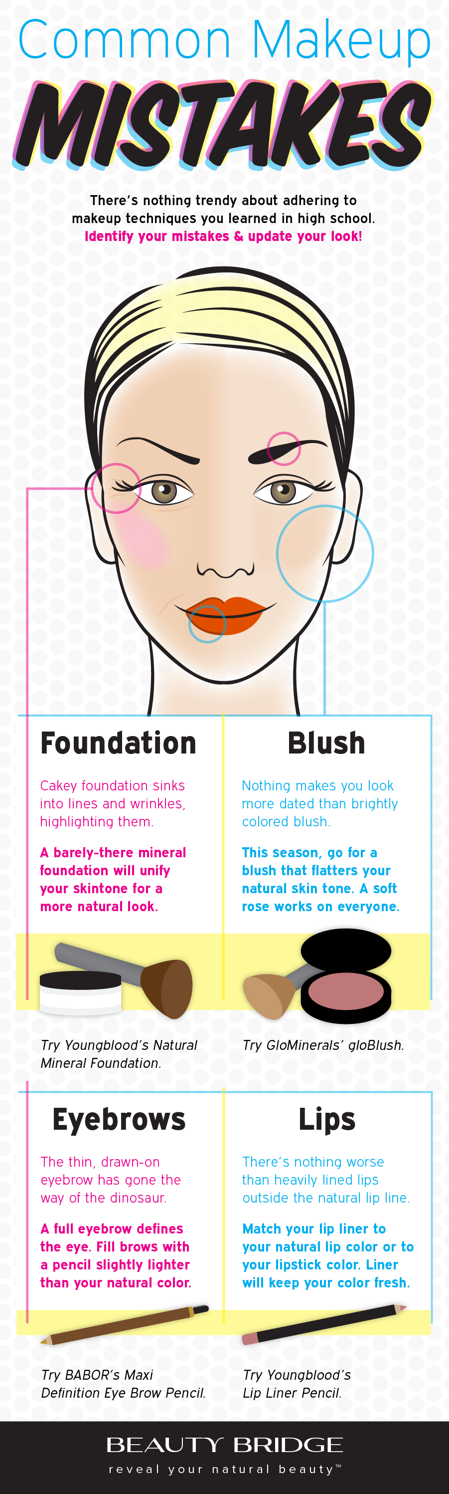 beauty common makeup mistakes