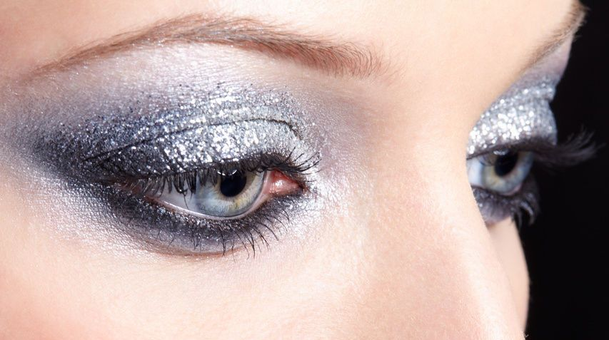 A guide to rocking glittery eyeshadow