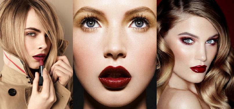 winter makeup colors