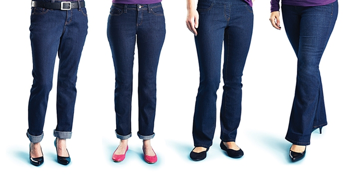 The Best Jeans for Your Body Type
