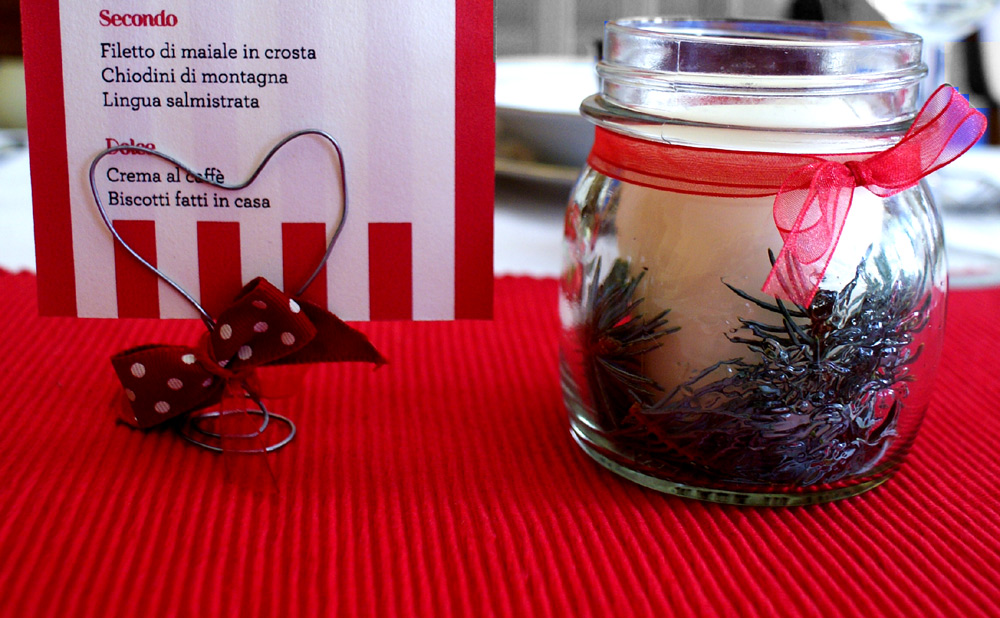 Diy table decorations the beauty bridge connoisseur for Home made christmas table decorations