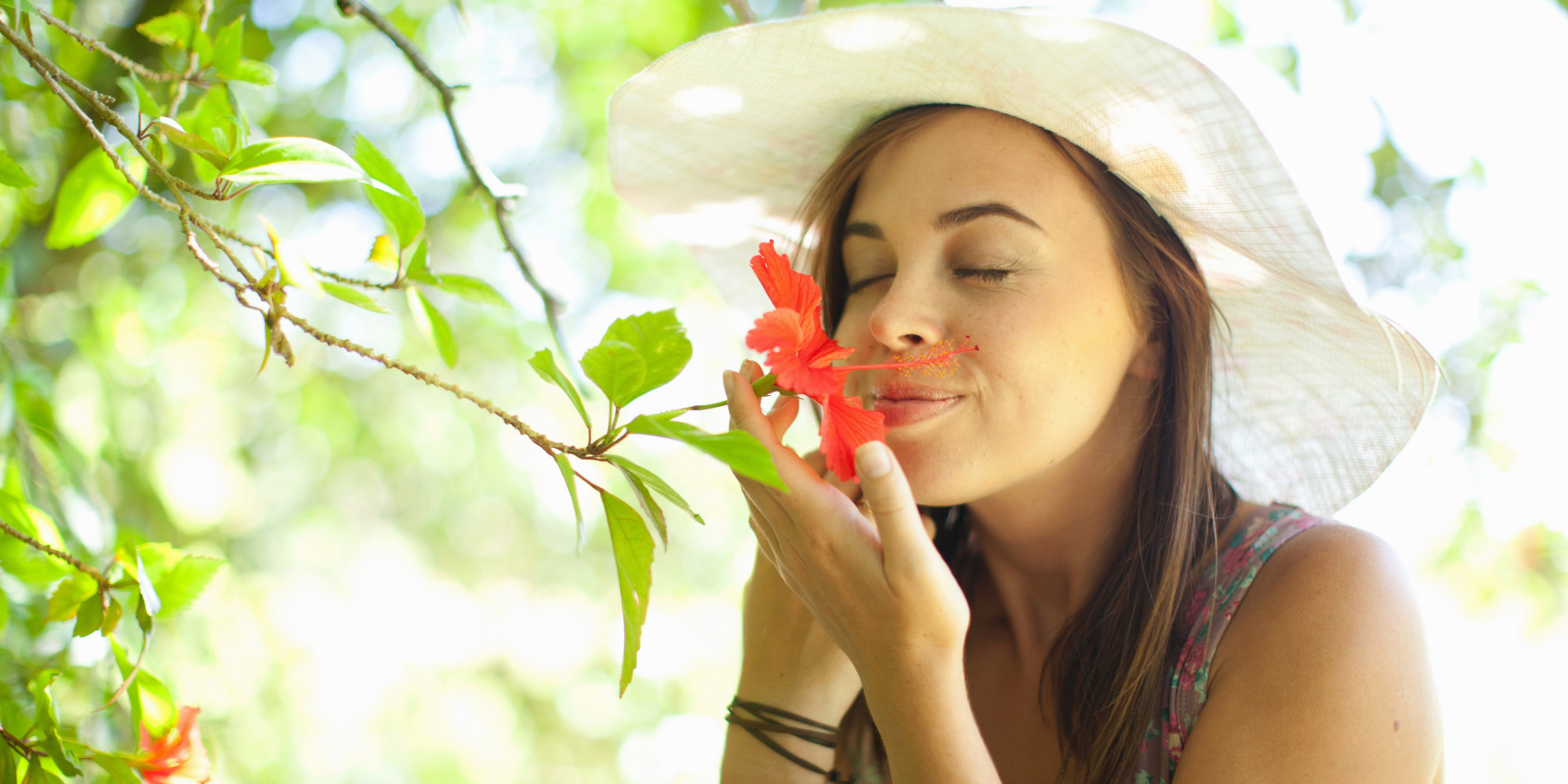 Image result for smelling flower fragrance