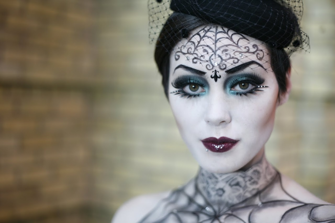 Halloween Makeup Ideas With What You Already Have | the Beauty ...