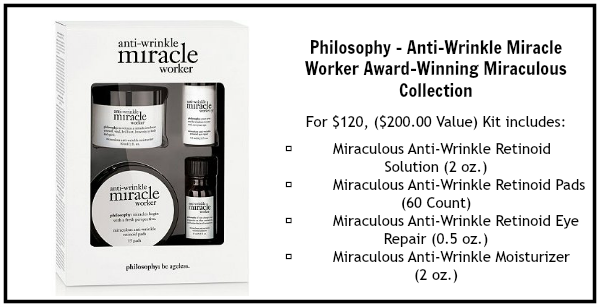philosophy anti wrinkle