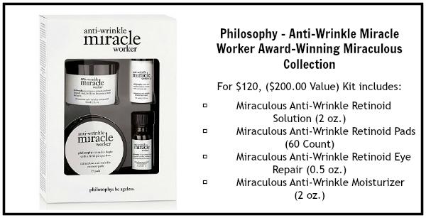 philosophy anti wrinkle