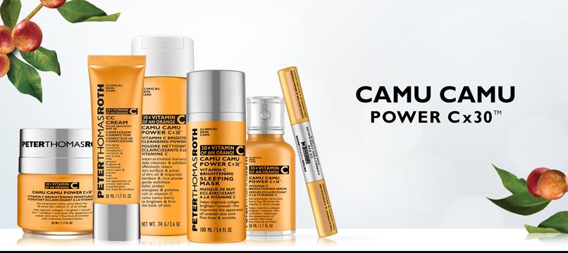 PETER THOMAS ROTH - Camu Camu Power C X 30 Vitamin C Brightening Sleeping Mask