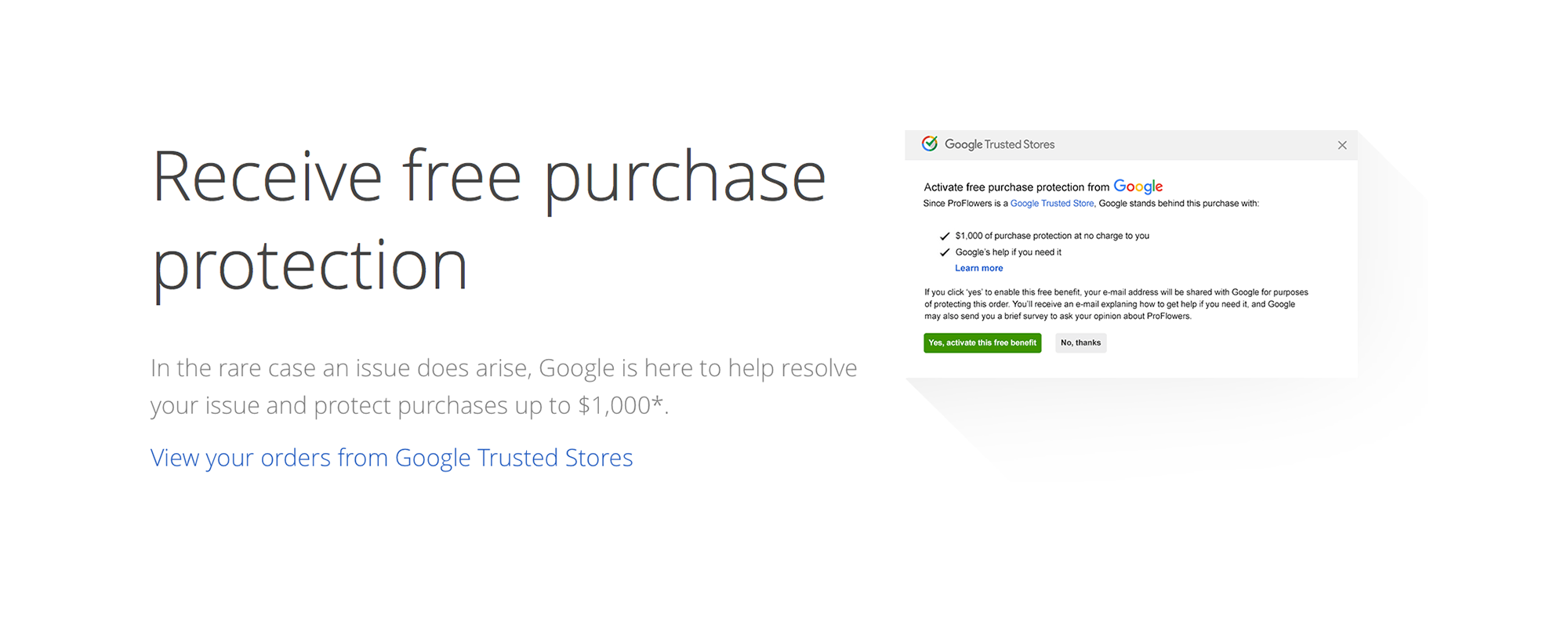 google-purchase-protection