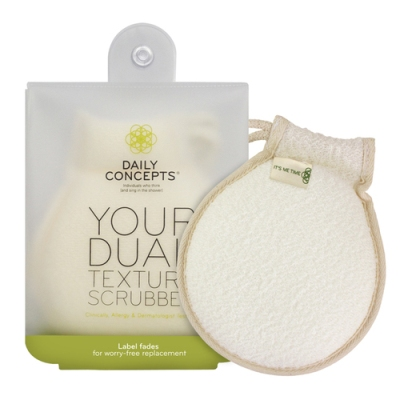 Daily Concepts - Your Dual Texture Scrubber