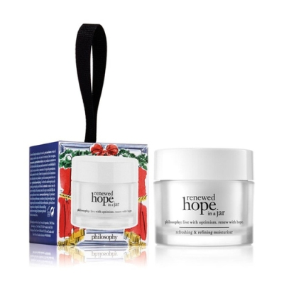 Philosophy - Renewed Hope In A Jar Refreshing and Refining Moisturizer Ornament