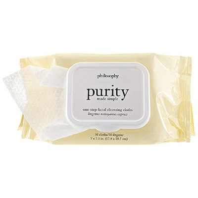 Purity Made Simple One-Step Facial Cleansing Cloths by Philosophy
