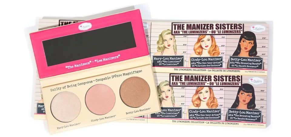 theBalm - theManizer Sisters Luminizers Palette