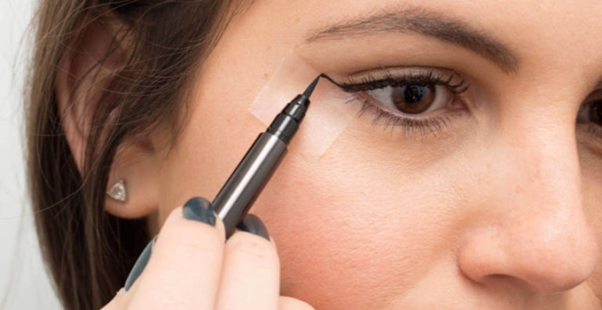 how to apply liner